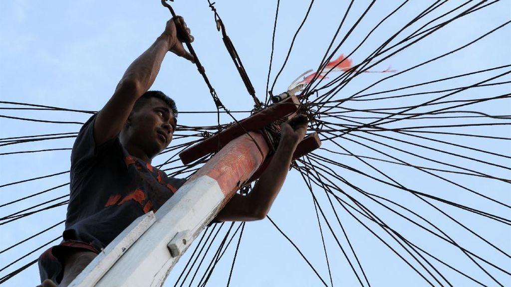 Cuaca Buruk, Nelayan di Kendari Tak Melaut