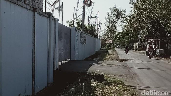 Pabrik yang ditutup Pemkab Klaten menyusul 50 karyawannya positif Corona, Sabtu (5/9/2020).
