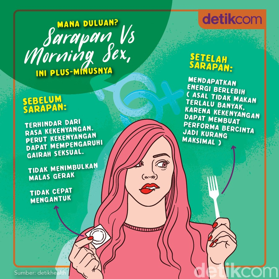 Sarapan atau Morning Sex, Sebaiknya Mana Duluan? Ini Saran Pakar