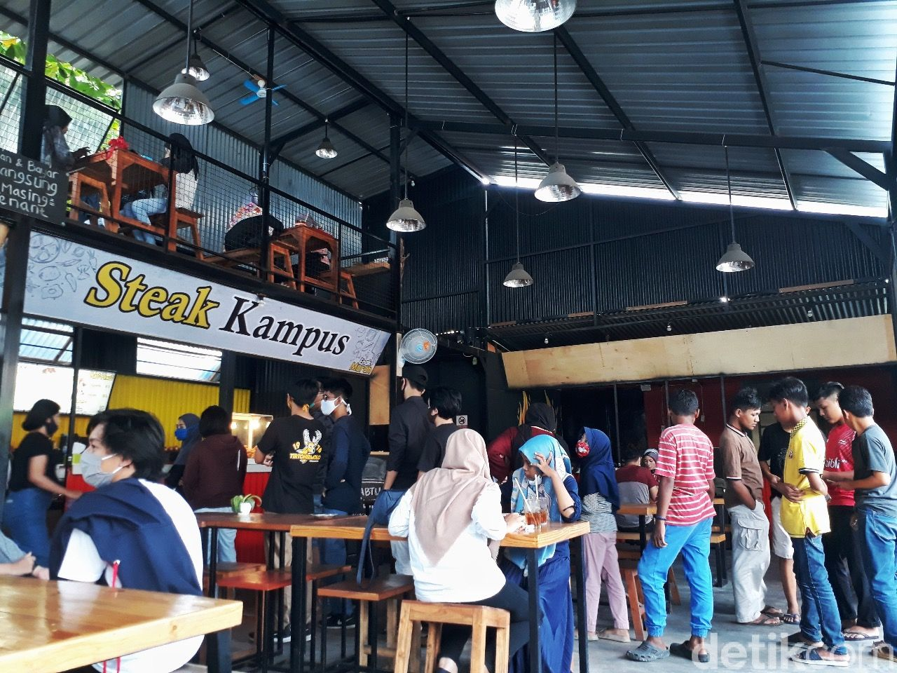 Steak Rp 10 ribu di Yogyakarta
