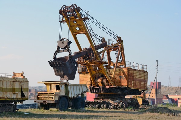 Pada tahun 2014 Mir Mine sudah menghasilkan enam juta karat berlian dari serangkaian bawah tanahnya.(Getty Images/iStockphoto)