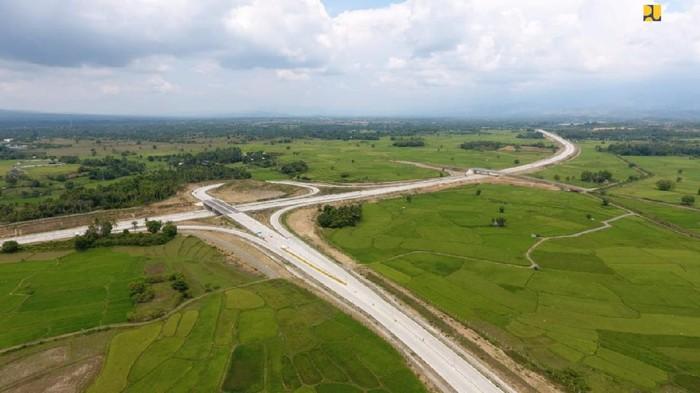 Tol Banda-Aceh Sigli Seksi 4 Indrapuri-Blang Bintang sepanjang 14 km