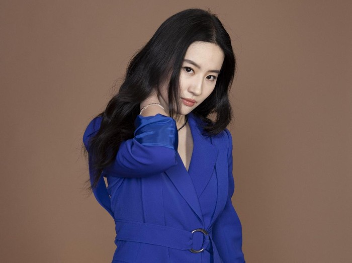 In this Sunday, March 8, 2020 photo, Yifei Liu, a cast member in the film