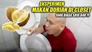 Di Lubang WC sampai di Atas Pohon, Cara Aneh Makan Durian