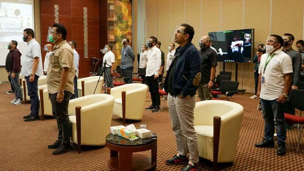 Garuda Indonesia Gelar Core Value AKHLAK BUMN