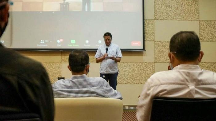 Garuda Indonesia gelar acara Internalisasi Core Value AKHLAK BUMN di Kantor Pusat Garuda Indonesia. Acara ini diharapkan meningkatkan produktivitas perusahaan.