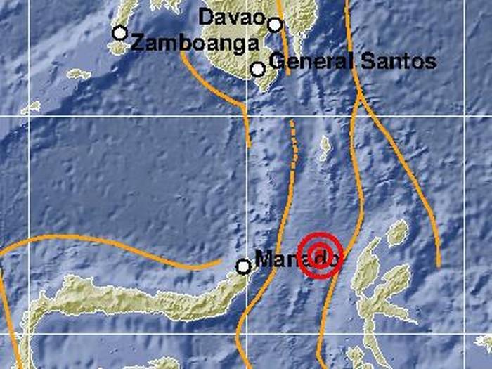 Gempa M 5,9 Halmahera Barat, Malut, Minggu (6/9/2020)