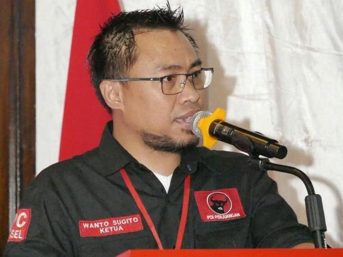 Ketua DPC PDIP Tangsel Wanto Sugito