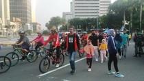 Kadishub: KKP Turunkan Aktivitas Warga di Bundaran HI
