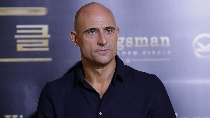 SEOUL, SOUTH KOREA - SEPTEMBER 21:  Mark Strong attends the Kingsman: The Golden Circle press conference at Yongsan CGV on September 21, 2017 in Seoul, South Korea.  (Photo by Han Myung-Gu/Getty Images)