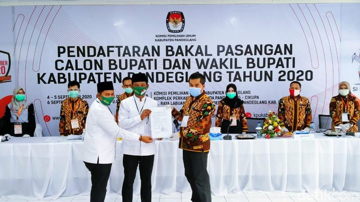 Pasangan Thoni-Miftahur penuhi syarat maju di Pilkada Pandeglang