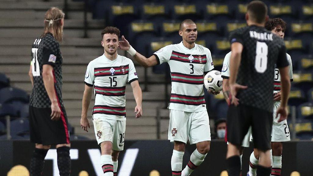 Tanpa Ronaldo, Portugal Kalahkan Kroasia 4-1