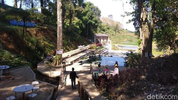 Lokasinya berada di Desa Setianegara, Kecamatan Cilimus, Kuningan. Woodland Kuningan sendiri merupakan tempat rekreasi keluarga yang baru dibentuk pada awal tahun 2019 silam. (Bima Bagaskara/detikcom)