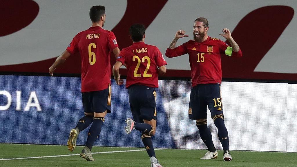 Ramos Samai Rekor Gol Di Stefano Bersama Spanyol