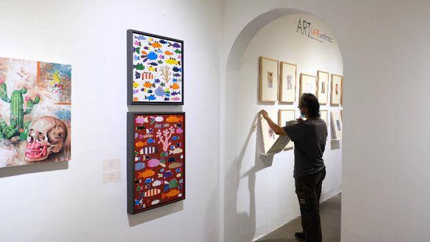 ARTJOG Resilience Digelar di Jogja National Museum, Yogyakarta, terbuka untuk umum mulai 7 September-10 Oktober 2020.