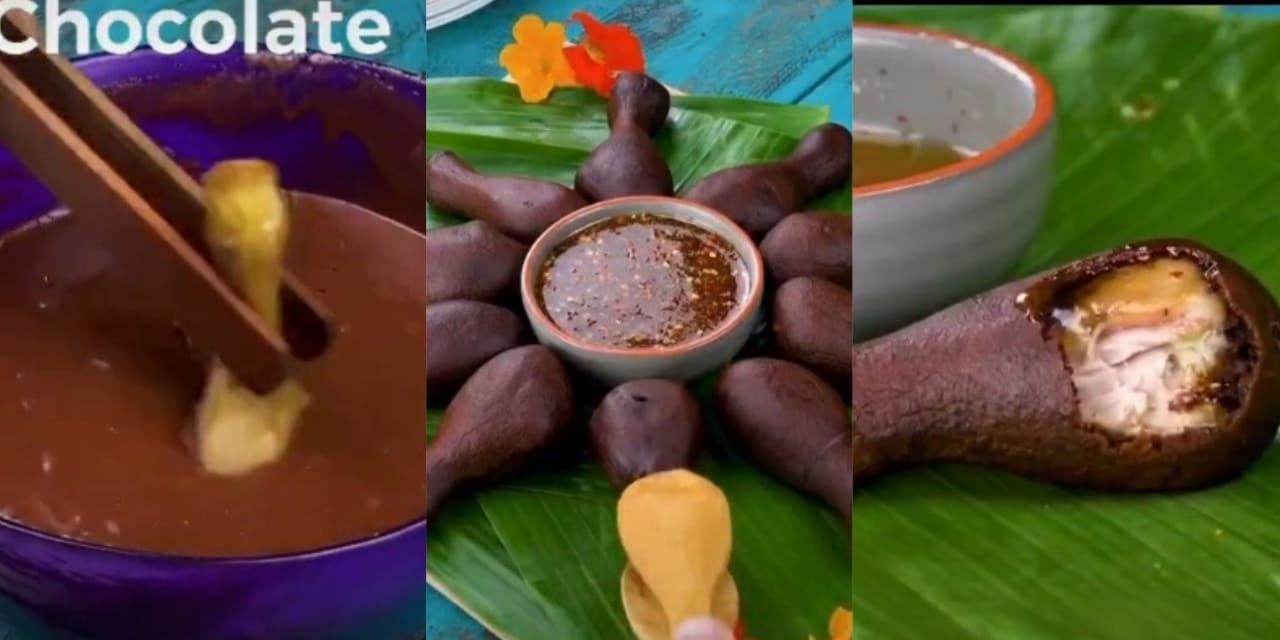 Ayam Lapis Cokelat Viral di TikTok