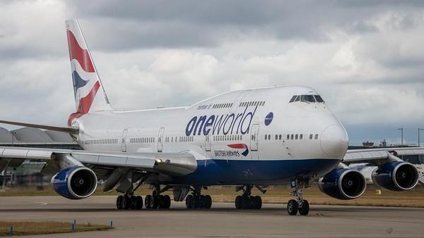 Gara-gara pandemi virus Corona, maskapai British Airways akhirnya menyerah dan mempensiunkan seluruh armada Boeing 747 milik mereka. Total ada 31 pesawat Boeing 747 yang sudah mereka pensiunkan. (dok. British Airways)