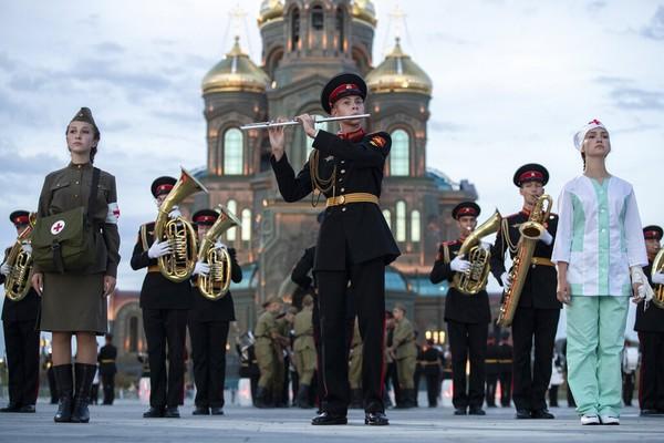 Peringkat ke-43 adalah Moscow, Rusia. Foto: AP/Pavel Golovkin