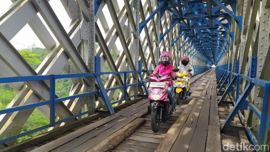 Potret Jembatan Cirahong Zaman Lawas-Anyar, Begini Sejarahnya