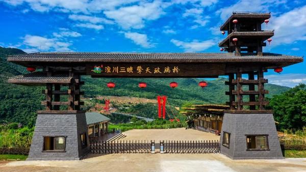 Pembangunan jembatan selesai di awal tahun 2020 dan dibuka pada awal bulan September.
