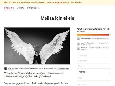 Beredar Petisi Tuntut Ayah Melisa Fans BTS Turki Dipenjara