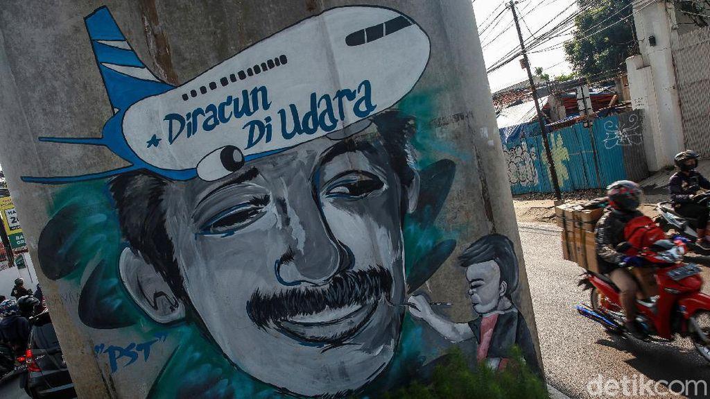 Mural Mengenang Aktivis HAM Munir
