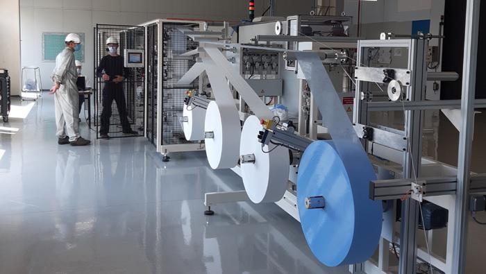 Pabrik PSA Grup mulai produksi masker