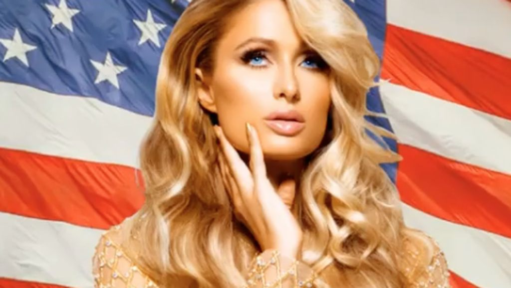 Lawan Corona, Paris Hilton Simpan Hand Sanitizer di Botol Berhias Kristal