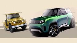 Potret Perkiraan Desain Suzuki Jimny Versi Listrik