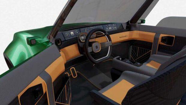 Perkiraan desain Suzuki Jimny versi listrik