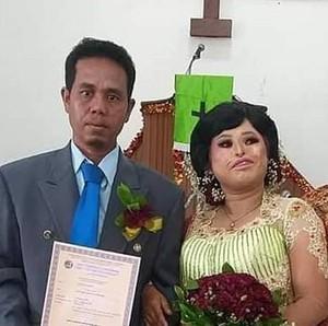 Viral Pernikahan Tanpa Pandang Fisik di Sumatera, Bikin Percaya Cinta Sejati