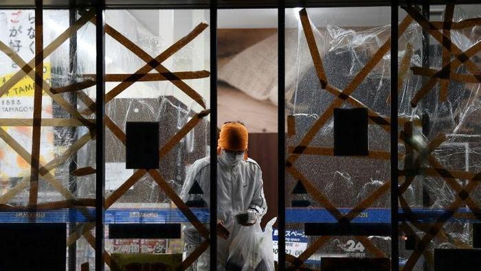 Usai menghantam Jepang, Topan Haishen akan hantam Korea Selatan (AFP Photo)