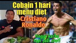 Youtuber Ikuti Pola Makan Ronaldo, Makan 6 Kali Sehari