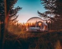 Traveler dapat menyewa kamar gelembung ini mulai USD 172 (sekitar Rp 2,5 juta) per malam. Sedangkan bila menginap sambil mengikuti tur tempat wisata, harganya adalah USD 430 (sekitar 6,4 juta) per malam. (Foto: buuble.com)