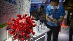 China memamerkan vaksin Corona untuk pertama kali di China International Fair for Trade in Services. Vaksin Corona ini nantinya akan diproduksi secara massal.