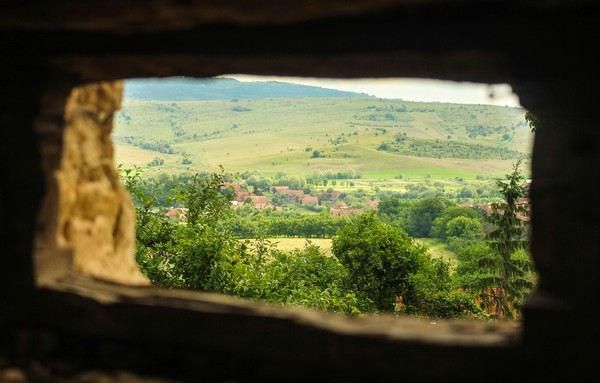 Inilah Desa Viscri di Transylvania.