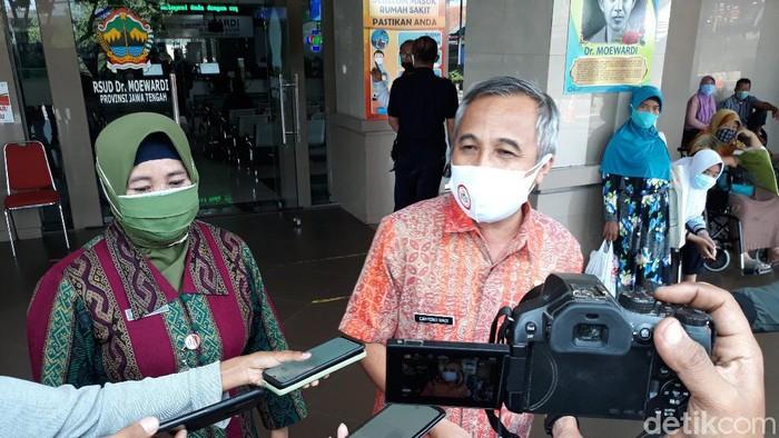 Direktur RS dr Moewardi Solo Cahyono Hadi