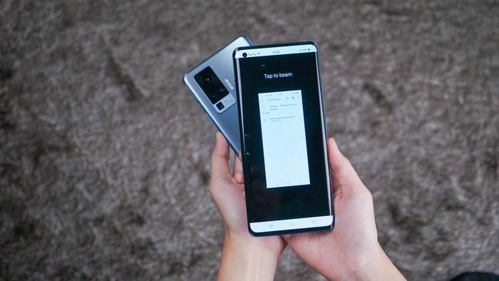 Fitur NFC di Vivo X50 Series