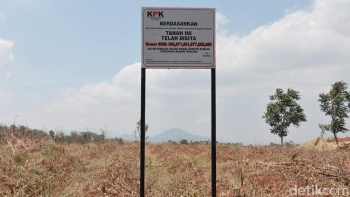 Kasus dugaan korupsi terkait pengadaan RTH di Pemkot Bandung pada 2012 lalu terus didalami oleh KPK. Lahan yang jadi objek korupsi itu pun kini disita KPK.
