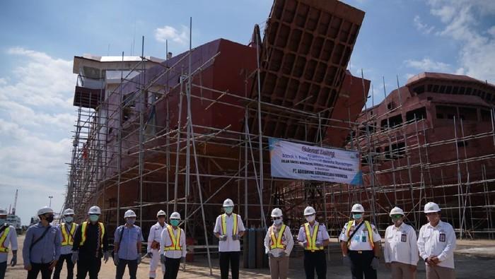 3 Kapal Aceh Hebat sedang dibangun
