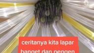 Numpang Makan di Pesta Kawinan hingga Penjual Rempeyek yang Dibuatkan Poster
