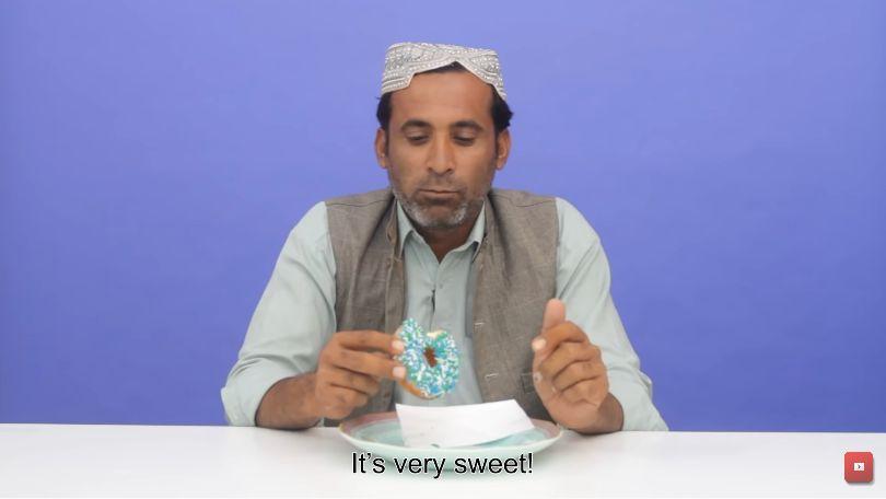 Masyarakat Adat Pakistan Pertama Kali Cicip Donat Hingga Bubble Tea
