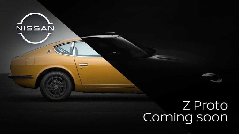Nissan Z akan bergaya retro.