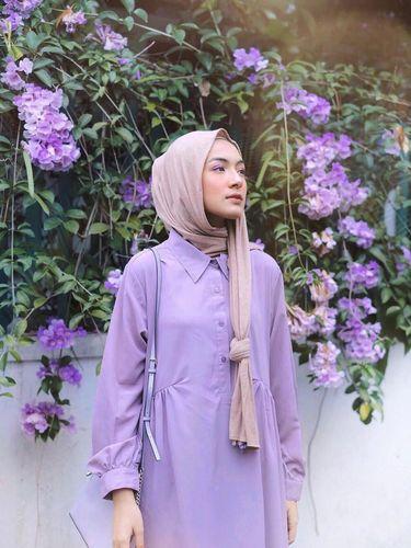 padu padan warna lilac