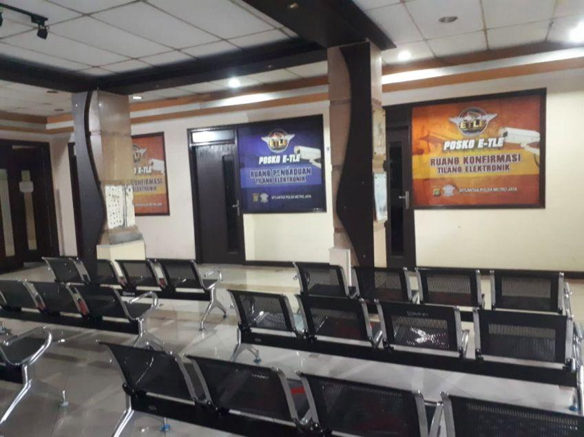 Posko E-TLE di Subdit Gakkum Ditlantas Polda Metro Jaya
