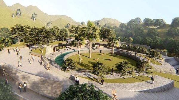 Dilihat detikTravel dari laman Instagram arsitek Yori Antar dari PT HAN AWAL, pihaknya mengusung desain bertema Jurassic untuk menata Pulau Rinca.