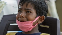 Tsunami COVID-19 di India Serang Kelompok Anak, Banyak yang Bergejala Parah