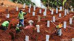 Kuota Makam Jenazah Corona di TPU Pondok Rangon Makin Menipis