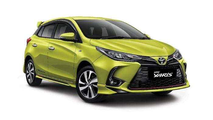 PT. Toyota Astra Motor meluncurkan Yaris Terbaru, Selasa (8/9).