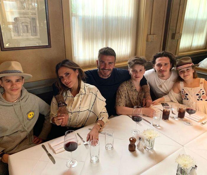 David Beckham dan Victoria Beckham
